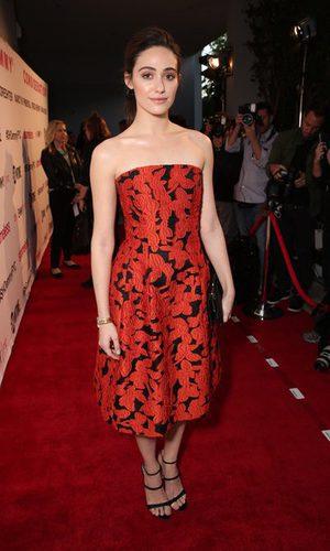 Emmy Rossum y el gótico floral