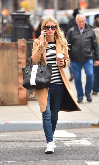 Nicky Hilton presume de embarazo con estilo