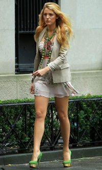 Blake Lively, una 'working girl' muy fashion
