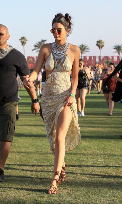 Kendall Jenner, aires étnicos en Coachella