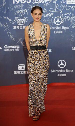 Natalie Portman se pone primaveral en Beijing