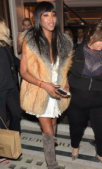 Naomi Campbell, ordinaria chic