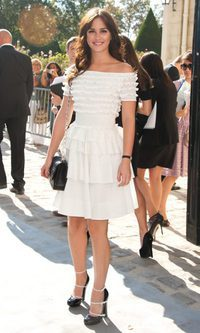 Leighton Meester disfruta de la primavera de Dior