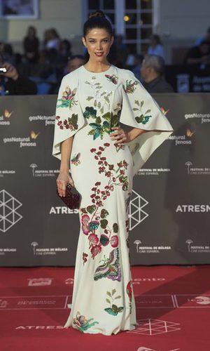 Juana Acosta, espectacular en Málaga