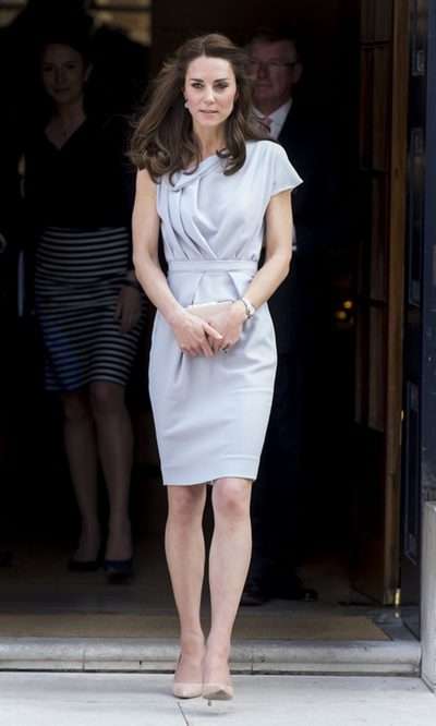 Kate Middleton, la Duquesa gris perla