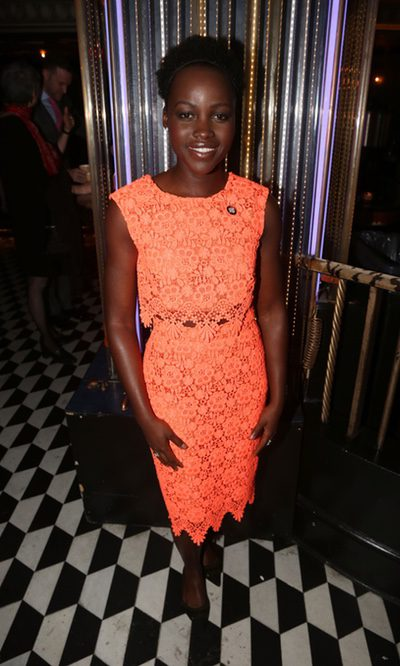 Lupita Nyong'o, la naranja pocha de los Tony