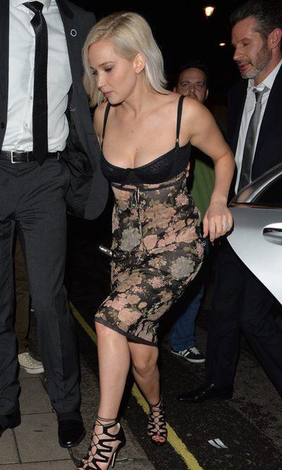 Jennifer Lawrence, a lo Kardashian por Londres