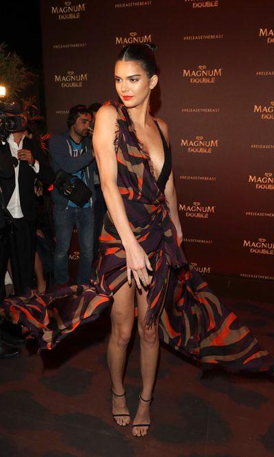 Kendall Jenner y su difícil Versace