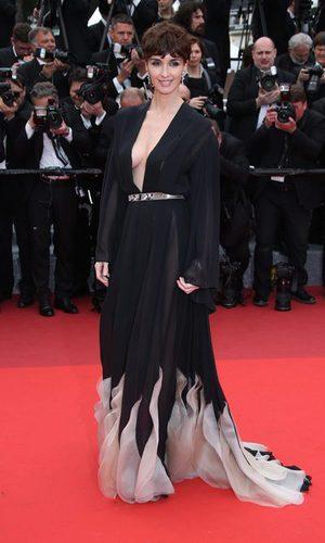 Paz Vega desentona en Cannes con su Stephane Rolland