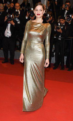 Marion Cotillard, 100% dorada en Cannes 2016