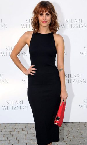 Silvia Alonso, apuesta por la elegancia del negro