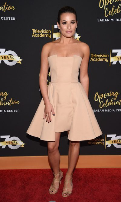 Lea Michele y su nude ideal