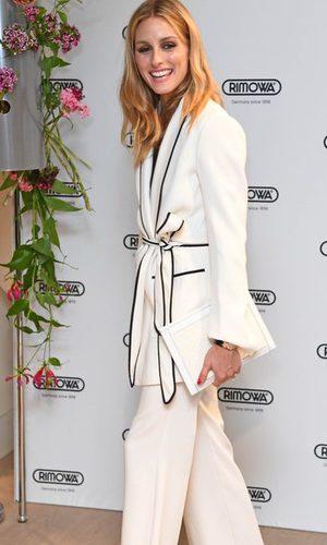 Olivia Palermo en 'pijama' y con glamour