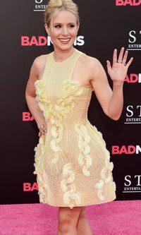 Kristen Bell, una campanilla de photocall