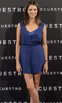 Macarena Goméz, secuestrada por el azul