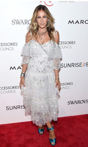 Sarah Jessica Parker y su deslumbrante estilo