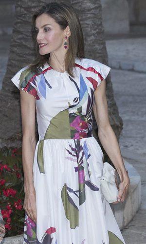 La Reina Letizia, estilo veraniego y floral