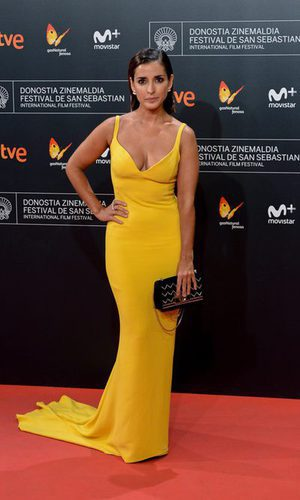 Inma Cuesta, elegancia amarilla
