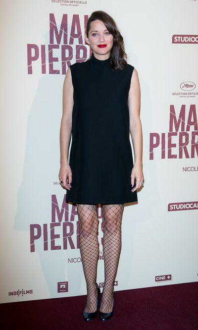 Marion Cotillard con un look discreto