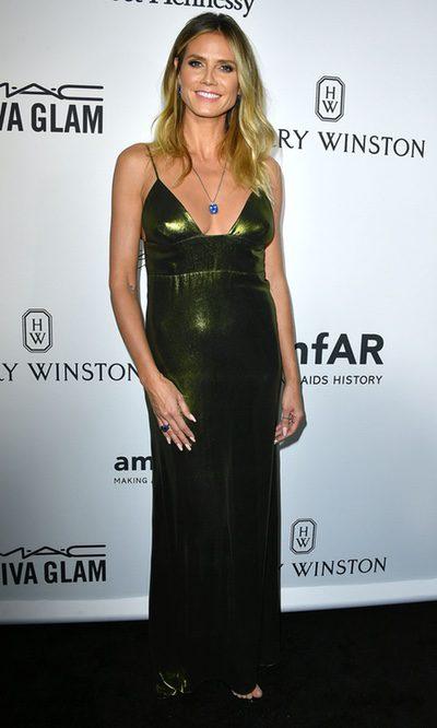 Heidi Klum con un look arriesgado