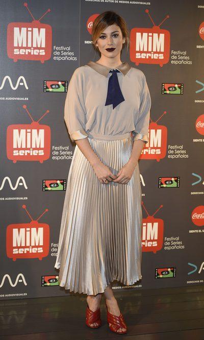 Blanca Suárez con un look vintage