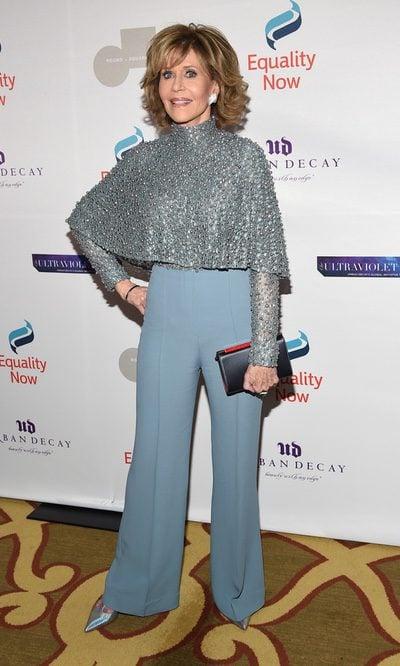 Jane Fonda y el look serenity