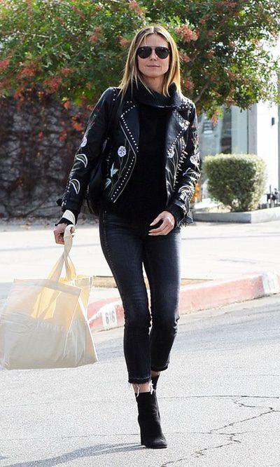 Heidi Klum y su street style