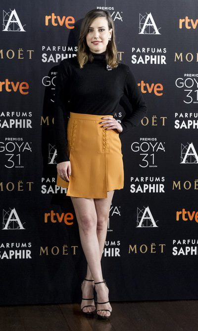 Natalia de Molina se decanta por la sencillez