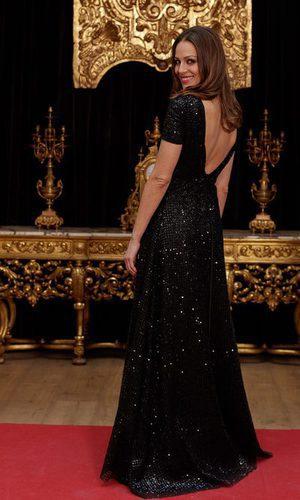 Eva González y su look brillante