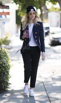 Chiara Ferragni y su look trendy