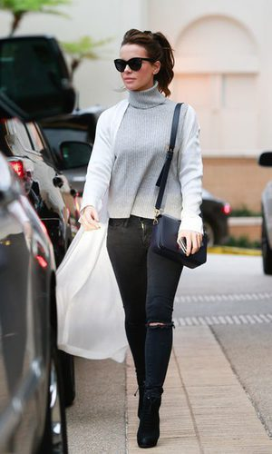 Kate Beckinsale y su street style