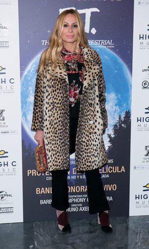 Marta Sánchez y el animal print
