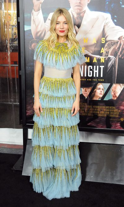 Sienna Miller y el estilo vintage