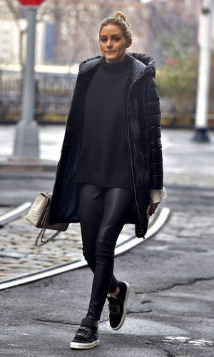 Olivia Palermo y su street style casual