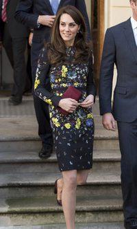 Kate Middleton apuesta por las flores