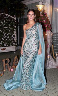 Tamara Gorro y su look 'Frozen'