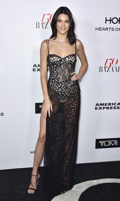 Kendall Jenner y las transparencias
