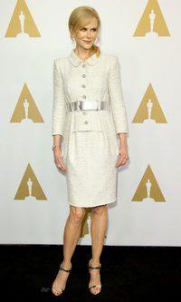 Nicole Kidman apuesta por un look muy chic