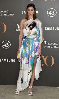 Dafne Fernández y su look oriental