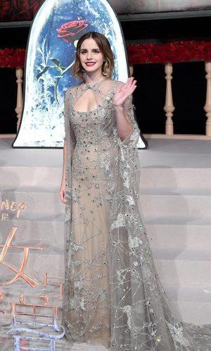 Emma Watson y su look de princesa