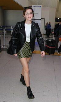 Emma Watson y su look rocker