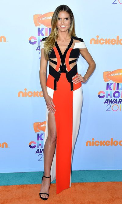Heidi Klum, look original