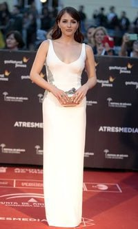 Andrea Duro, look impecable