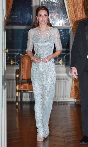 Kate Middleton apuesta por los brillos