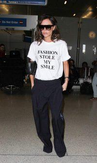 Victoria Beckham, una camiseta con mensaje