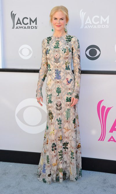 Nicole Kidman apuesta por las flores