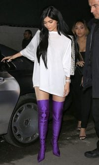 Kylie Jenner, siempre a la última