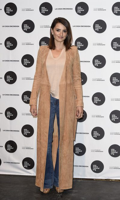 Penélope Cruz apuesta por un look bohemio
