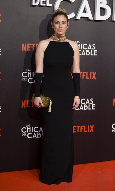 Blanca Suárez, elegante sobre la red carpet