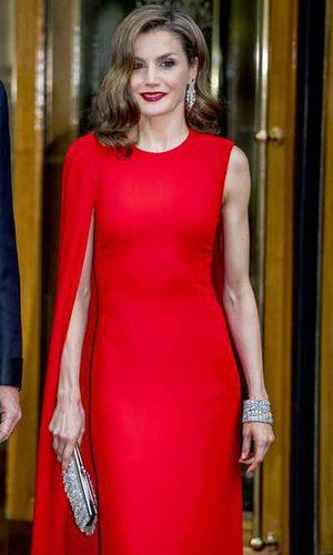 Stella McCartney viste de gala a la Reina Letizia